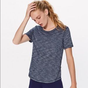 Lululemon Long Distance Short Sleeve